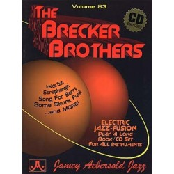 AEBERSOLD VOL.83 - THE BRECKER BROTHERS (+CD)