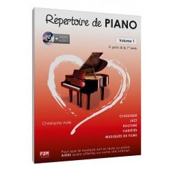 RÉPERTOIRE DE PIANO -...