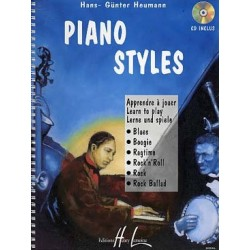 PIANO STYLES (+ CD)