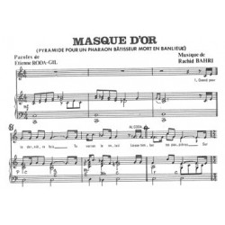 MASQUE D'OR