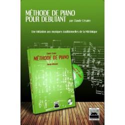 MÉTHODE DE PIANO NIVEAU DÉBUTANT Claude Césaire