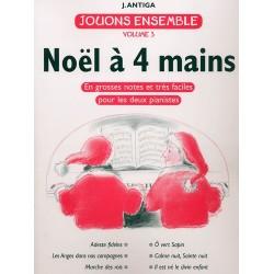 JOUONS ENSEMBLE Vol.3 : NOËL À 4 MAINS