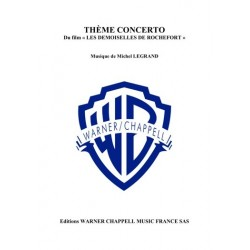 Sheet music THÈME CONCERTO Michel Legrand