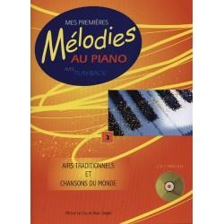 MES PREMIÈRES MÉLODIES AU PIANO VOL.2 - AIRS TRADITIONNELS (+CD)