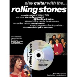 PLAY GUITAR WITH... THE ROLLING STONES (TAB + CD)