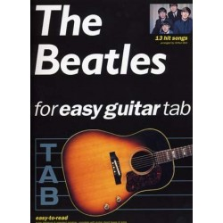 THE BEATLES FOR EASY GUITAR (TAB)
