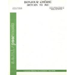 BONJOUR CHÉRIE (RETURN TO ME)