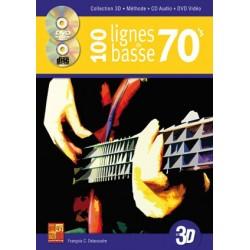 100 LIGNES DE BASSE 70'S EN...
