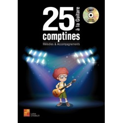 25 COMPTINES À LA GUITARE...