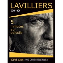 Songbook BERNARD LAVILLIERS 5 MINUTES AU PARADIS