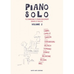 PIANO SOLO VOLUME 2