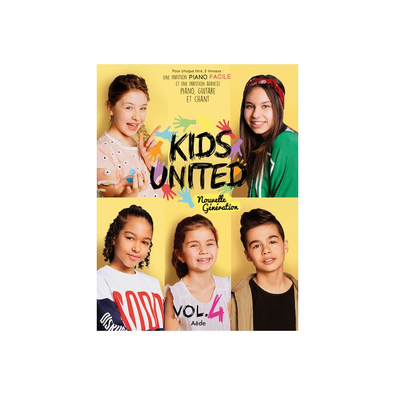 Sheet music KIDS UNITED - VOLUME 4