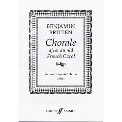 Chorale After An Old French Carol (SATB)