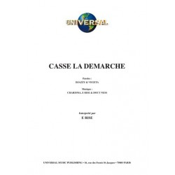 CASSE LA DÉMARCHE
