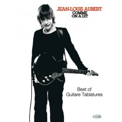 Songbook COMME ON A DIT Jean Louis Aubert