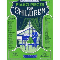 PIANO PIECES FOR CHILDREN Sheetmusic