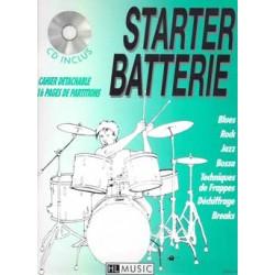 STARTER BATTERIE VOL.1 (+CD)