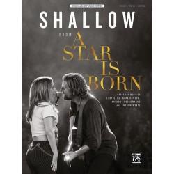 Sheet music SHALLOW (A STAR IS BORN) lady gaga