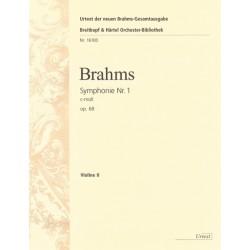 BRAHMS SYMPHONIE NR. 1 OP.68 (VIOLIN II)