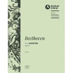BEETHOVEN EGMONT OUVERTURE OP.84 (VIOLIN I)