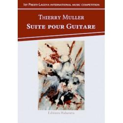 Partition SUITE POUR GUITARE Thierry Muller