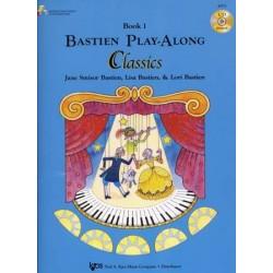 BASTIEN PLAY-ALONG CLASSICS BOOK 1 PIANO (+ CD)