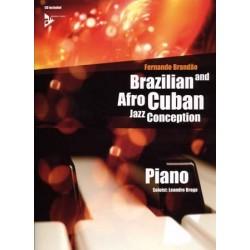 BRAZILIAN et AFRO CUBAN JAZZ CONCEPTION PIANO (+ CD)