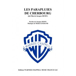 Sheetmusic LES PARAPLUIES DE CHERBOURG Michel LEGRAND