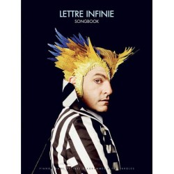 SONGBOOK Matthieu Chedid LETTRE INFINIE