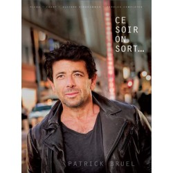 SONGBOOK PATRICK BRUEL CE SOIR ON SORT