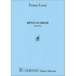 Partition RÊVES D'AMOUR Franz Liszt