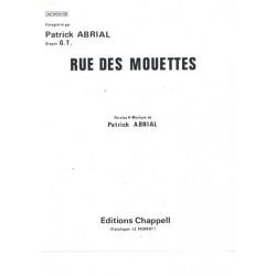 Partition RUE DES MOUETTES Patrick ABRIAL
