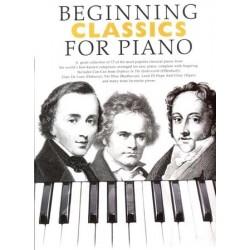 BEGINNING CLASSICS FOR PIANO