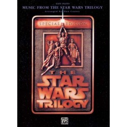 THE STAR WARS TRILOGY EASY PIANO