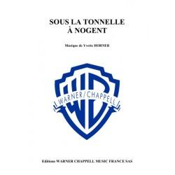 Sheet music SOUS LA TONNELLE À NOGENT Yvette Horner