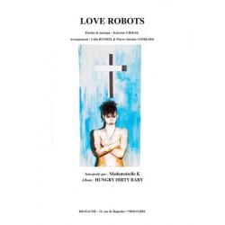 Partition LOVE ROBOTS Mademoiselle K