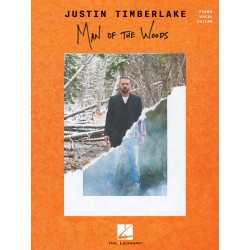 Songbook JUSTIN TIMBERLAKE - MAN OF THE WOODS