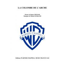Partition LA COLOMBE DE L'ARCHE Yves Montand