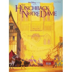 Songbook THE HUNCHBACK OF NOTRE DAME DISNEY