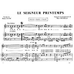 Sheet music LE SEIGNEUR PRINTEMPS