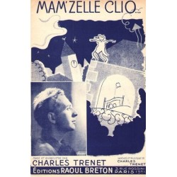 Partition MAM'ZELLE CLIO Charles Trenet