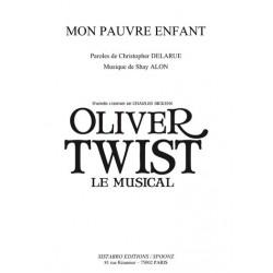 Partition MON PAUVRE ENFANT Oliver Twist