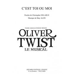 Sheet music C'EST TOI OU MOI Oliver Twist
