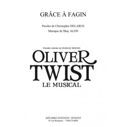 Sheet music GRÂCE À FAGIN Oliver Twist