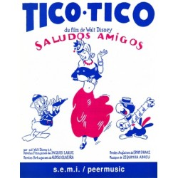 Sheet music TICO-TICO DISNEY