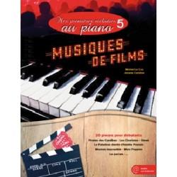 Partitions MES PREMIÈRES MÉLODIES AU PIANO VOL.5 MUSIQUES DE FILMS