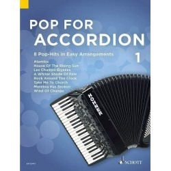 Partition POP FOR ACCORDION VOLUME 1