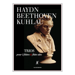 Partition HAYDN BEETHOVEN KUHLAU TRIOS YLC Flûte Édition