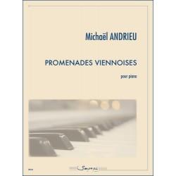 Partition PROMENADES VIENNOISES Michaël Andrieu