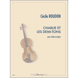 Sheet music CHARLIE ET LES DEMI-TONS Cécile Roudon
